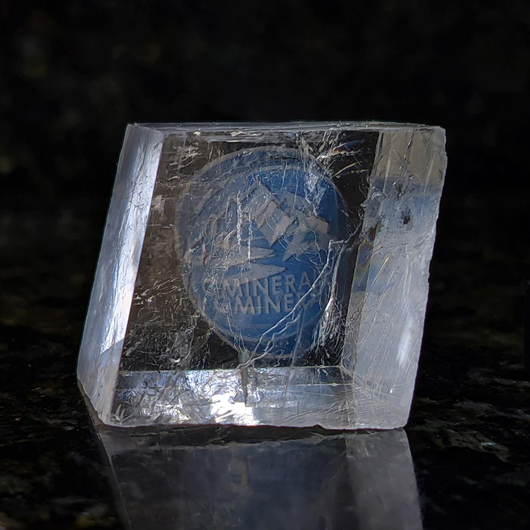 Calcita Óptica Incolor - 2,8 cm