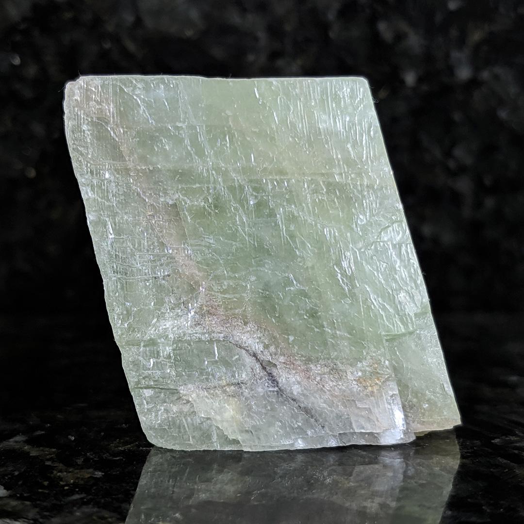 Calcita verde - 5,8 cm