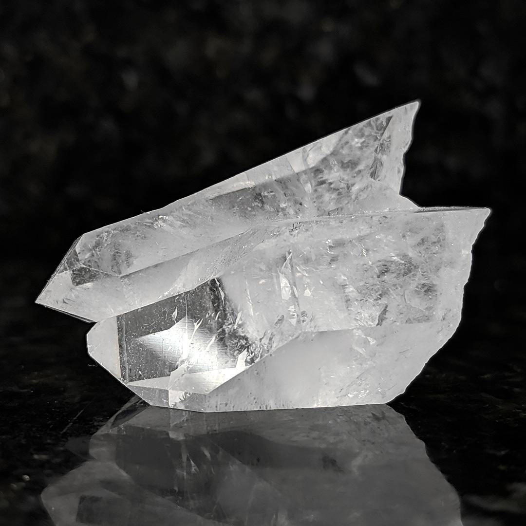 Cristal de rocha agrupado - 4,5 cm