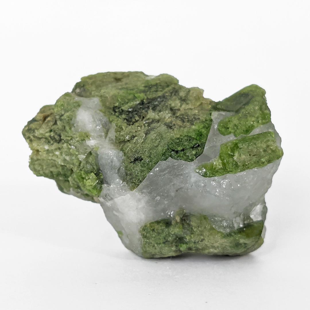 Diopsídio verde - 6,4 cm