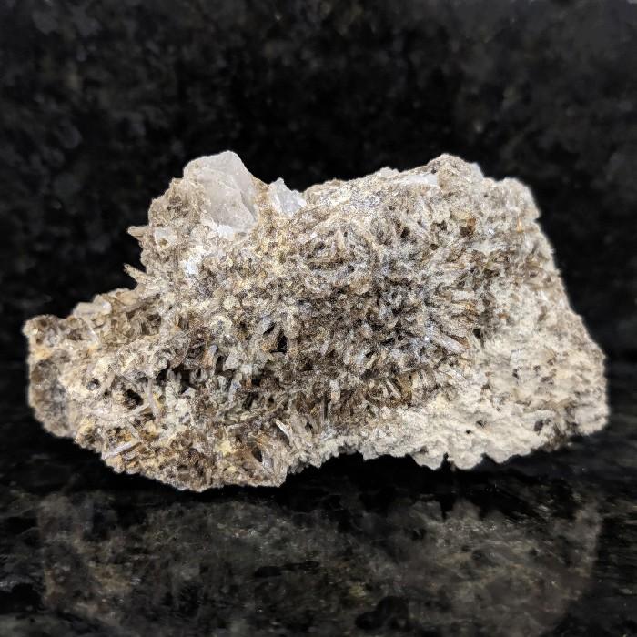 Eosforita com quartzo - 10,9 cm