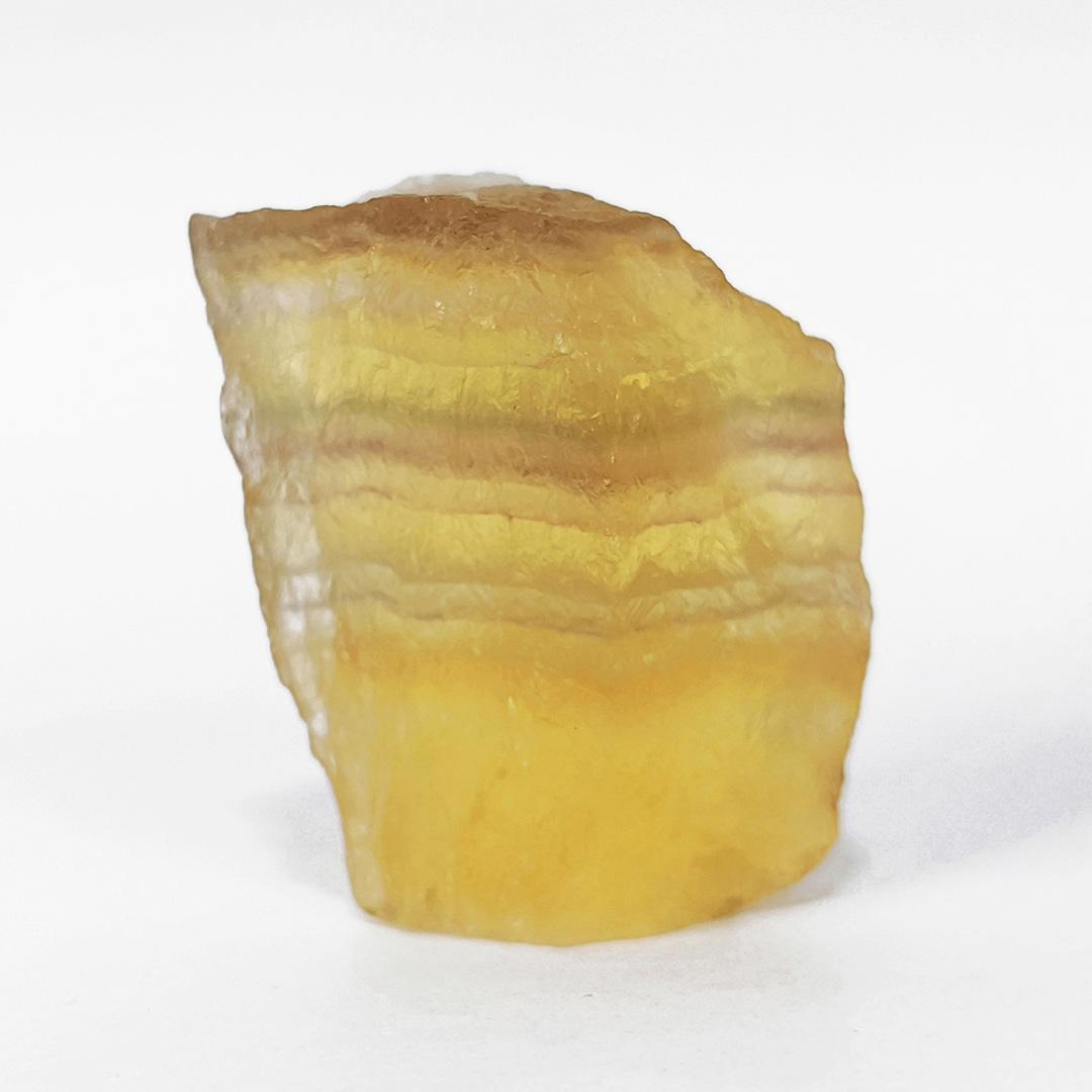 Fluorita Arco-íris Amarelada - 4,7 cm