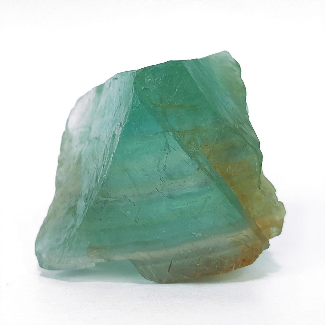 Fluorita Arco-íris Esverdeada - 4,9 cm