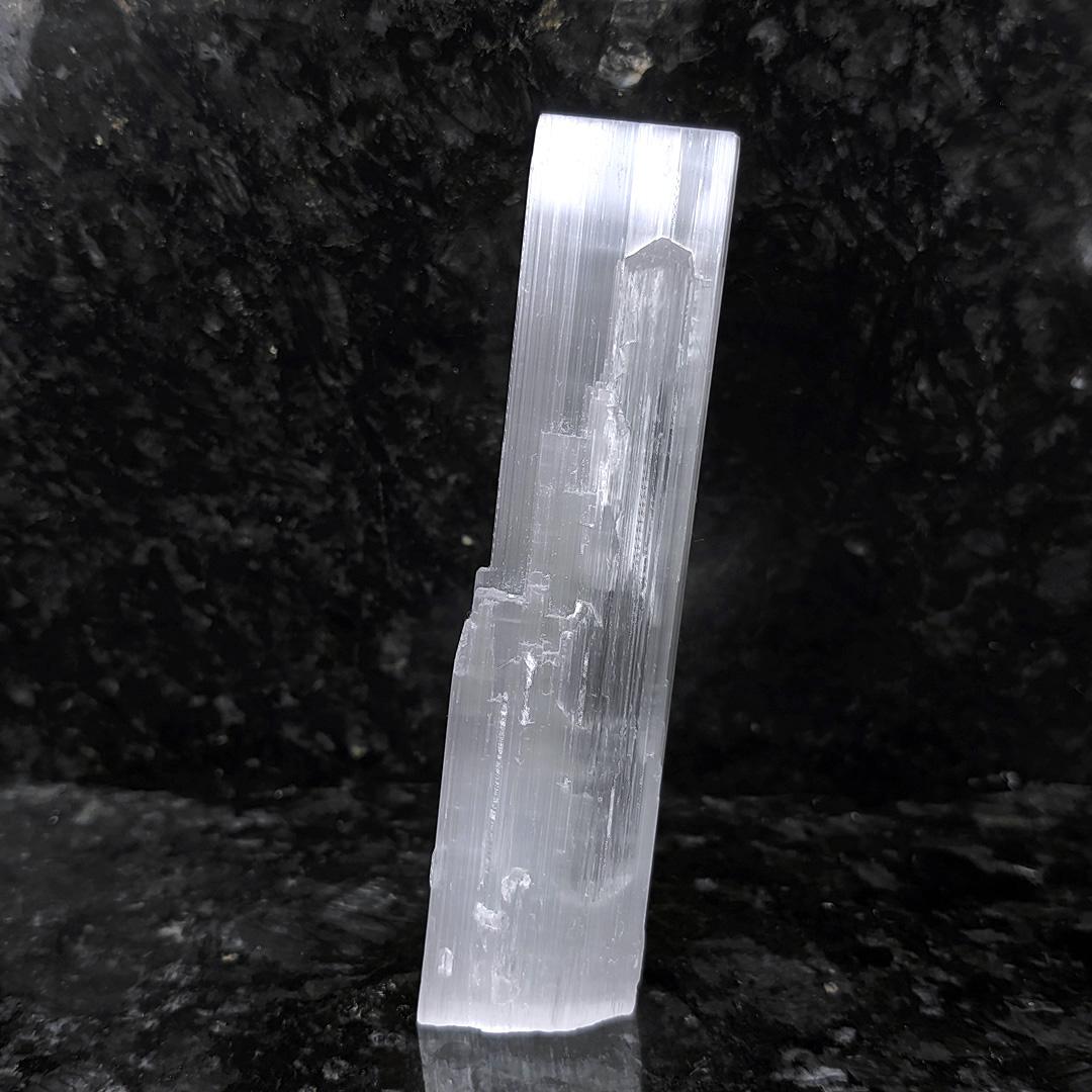 Gipsita Fibrosa Incolor (bastão) - 11,1 cm