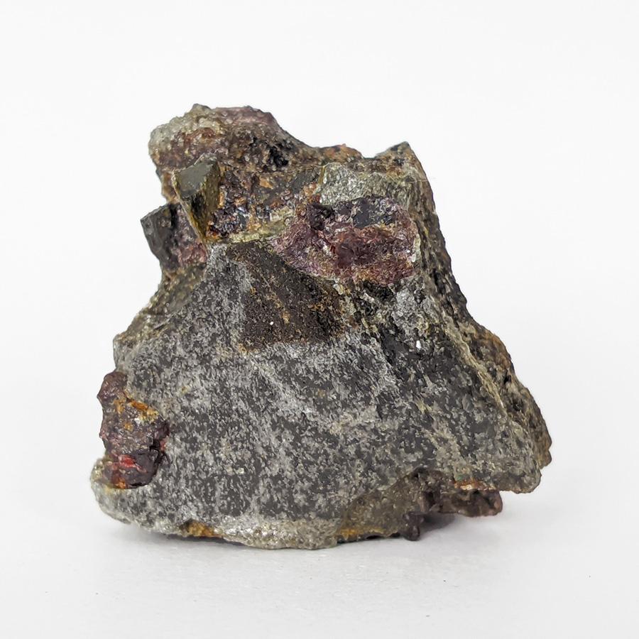 Granada almandina e estaurolita no xisto - 5,1 cm