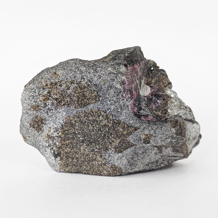 Granada almandina e estaurolita no xisto - 5,9 cm