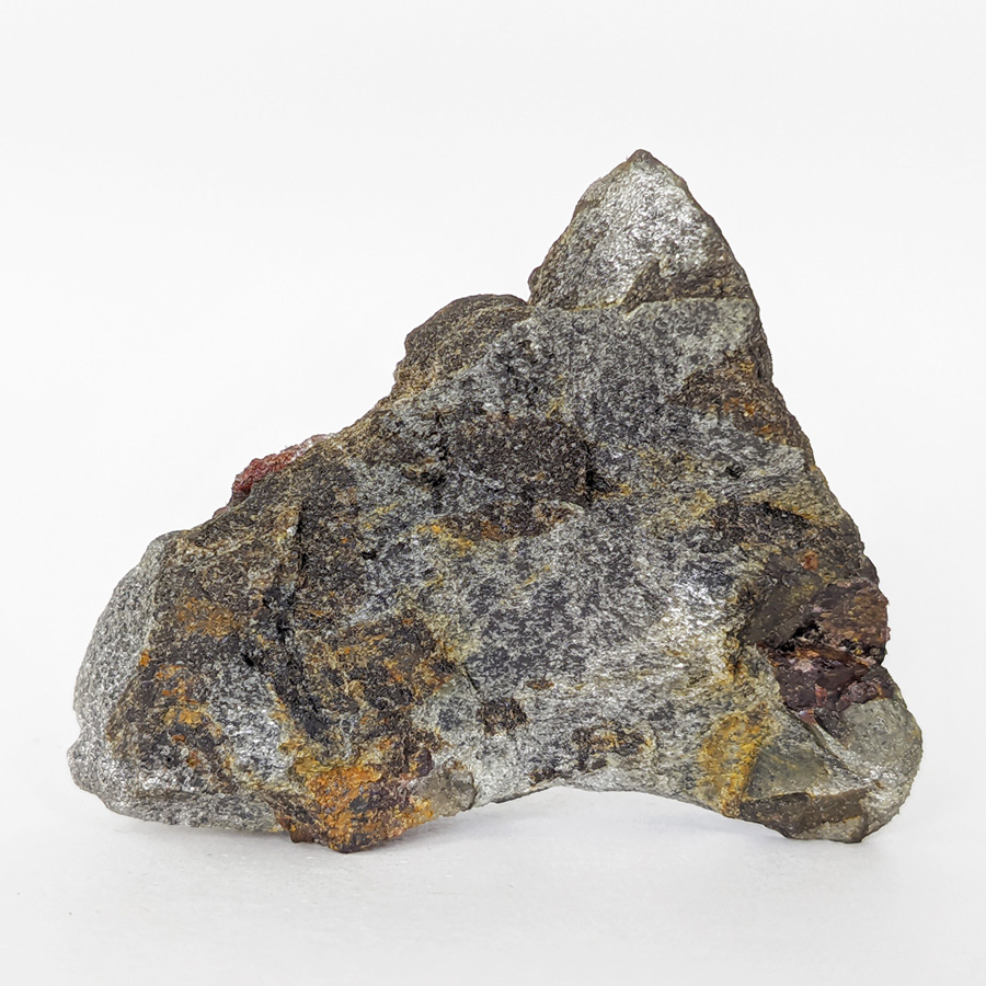 Granada almandina e estaurolita no xisto - 7,1 cm