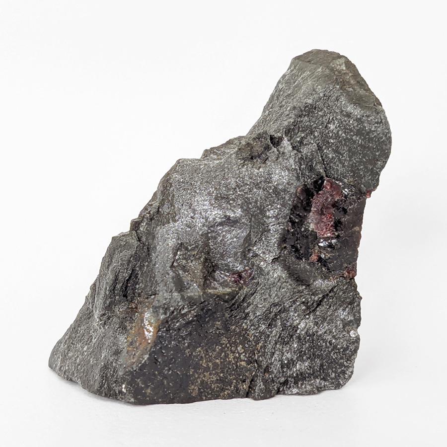 Granada almandina e estaurolita no xisto - 7,5 cm