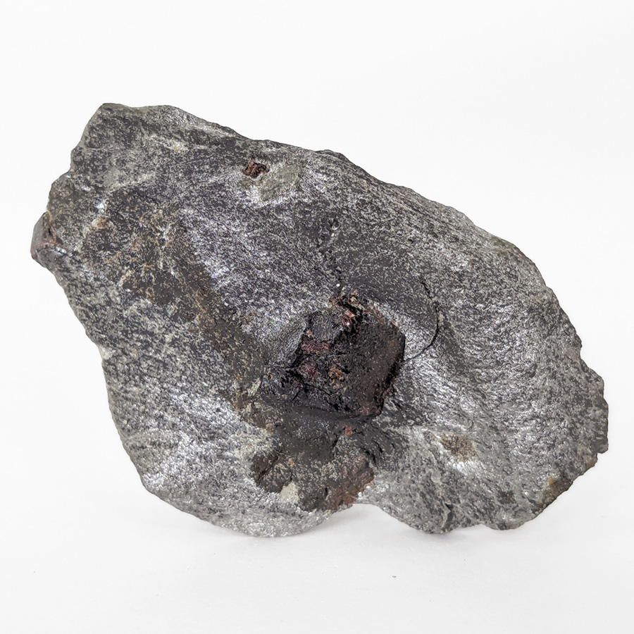 Granada almandina e estaurolita no xisto - 9,7 cm