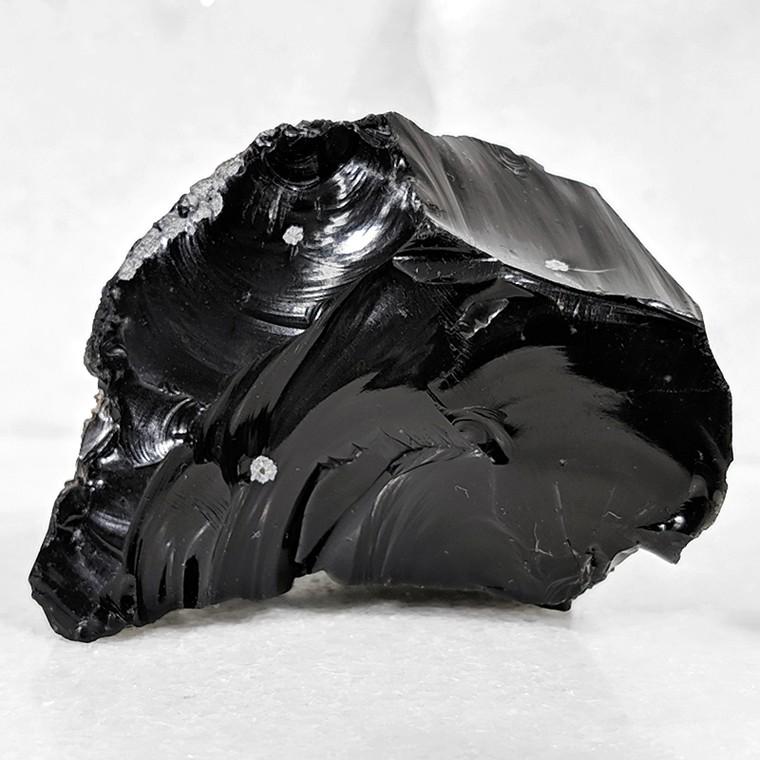 Obsidiana floco de neve - 6,5 cm