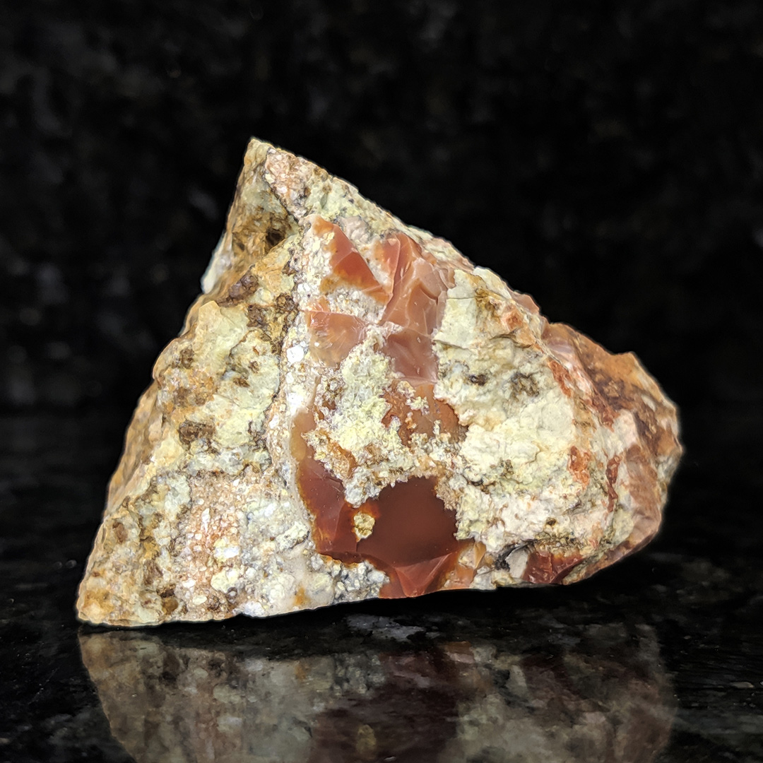 Opala vermelha - 5,7 cm