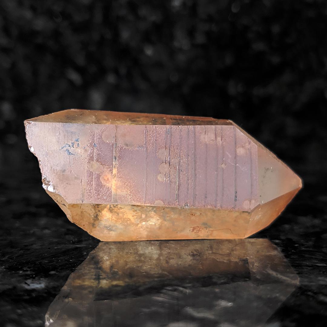 Quartzo tangerina - 5 cm