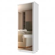 Armário Multiuso Sophia 1 Porta Branco - Doce Sonho Móveis