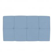 Cabeceira Suspensa Nina 100 cm Solteiro Corano Azul Bebê - Doce Sonho Móveis