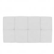 Cabeceira Suspensa Nina 100 cm Solteiro Corano Branco - Doce Sonho Móveis