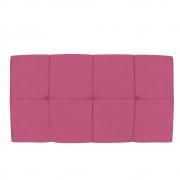 Cabeceira Suspensa Nina 100 cm Solteiro Corano Pink - Doce Sonho Móveis