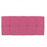 Cabeceira Suspensa Nina 195 cm King Size Corano Pink - Doce Sonho Móveis