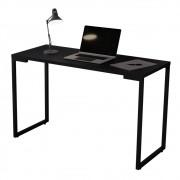 Mesa Escrivaninha Adele 120cm Para Escritório e Home Office Industrial Preto - Doce Sonho Móveis