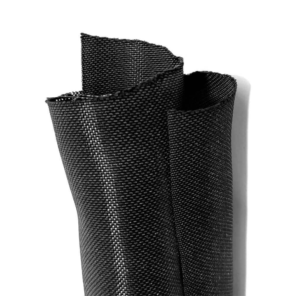 19 mm Preto - Malha de Autofechamento Não Expansiva (1m)