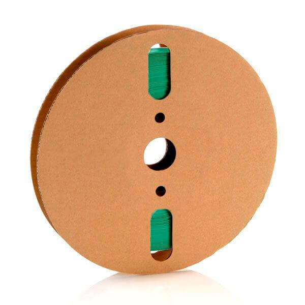 25,4 mm Verde Termo Retrátil Padrão (25m)