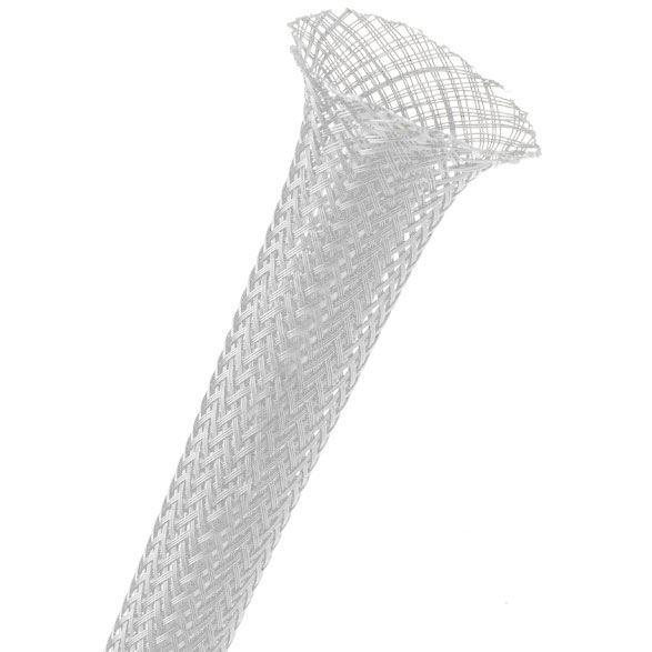 28 mm Branca - Malha Náutica Expansiva (1m)
