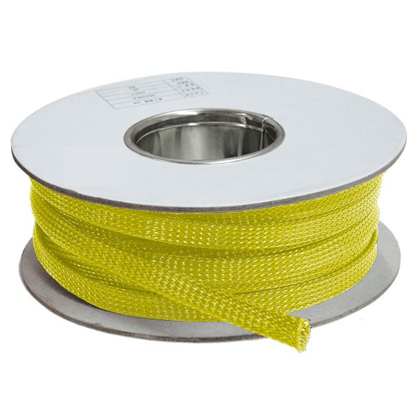 3 mm Amarelo - Malha Náutica Expansiva (25m)
