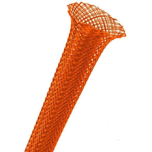 3 mm Laranja - Malha Náutica Expansiva (1m)