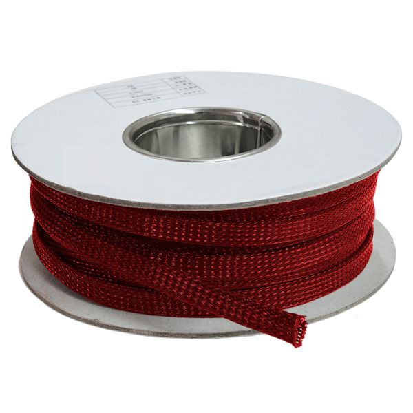 3 mm Vermelho - Malha Náutica Expansiva (25m)