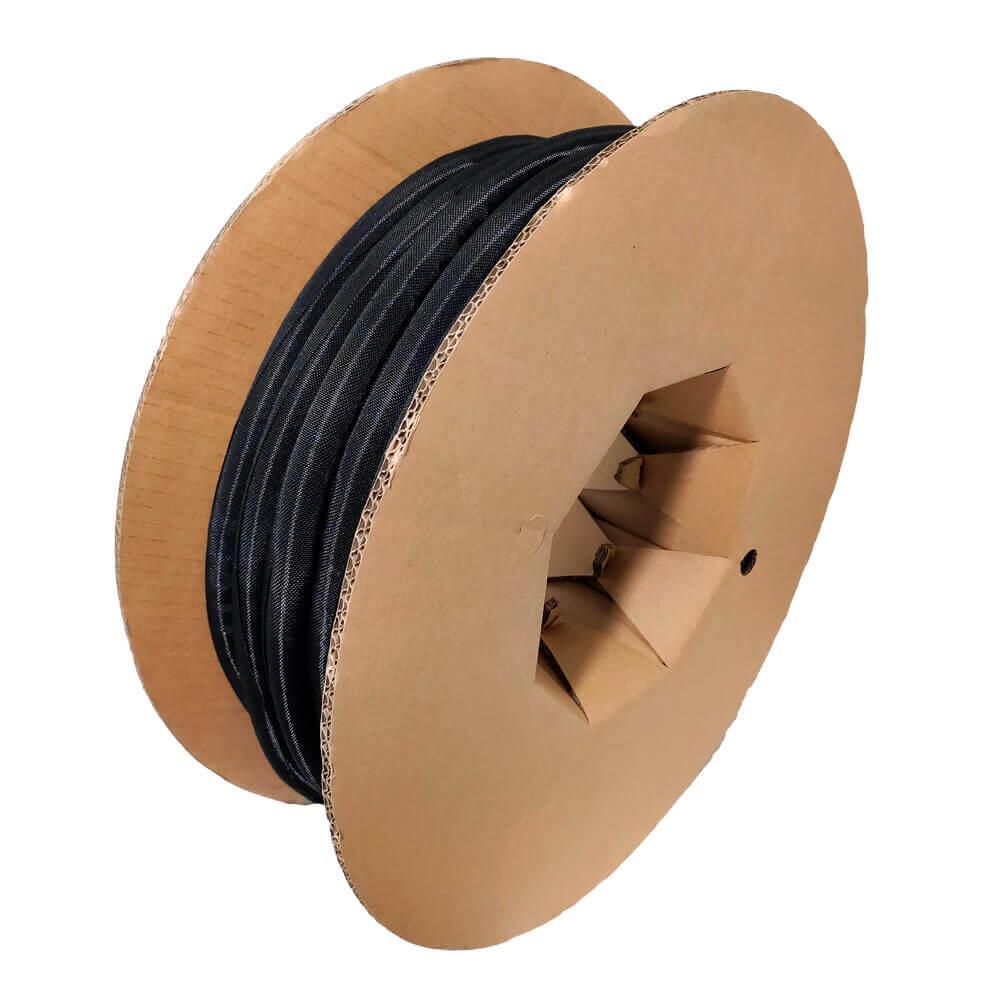 50 mm Preto - Malha de Autofechamento Não Expansiva (25m)