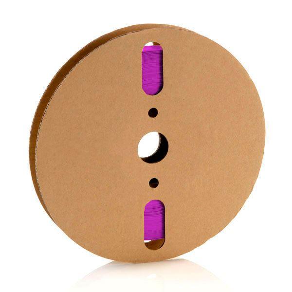 6,4 mm Violeta Termo Retrátil Padrão (25m)