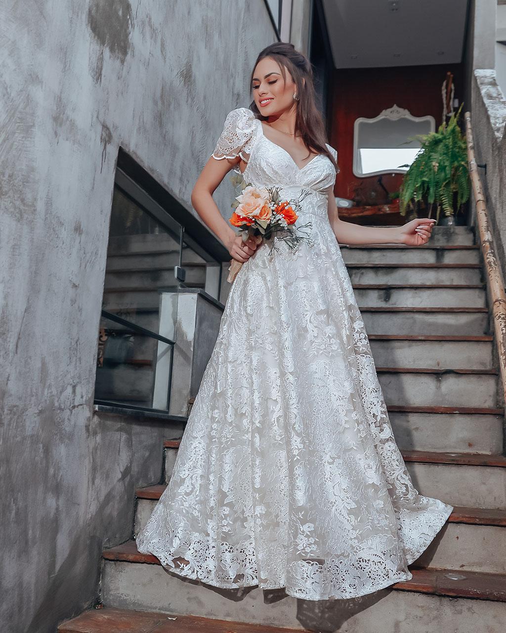 Vestido Açucena  - Empório NM