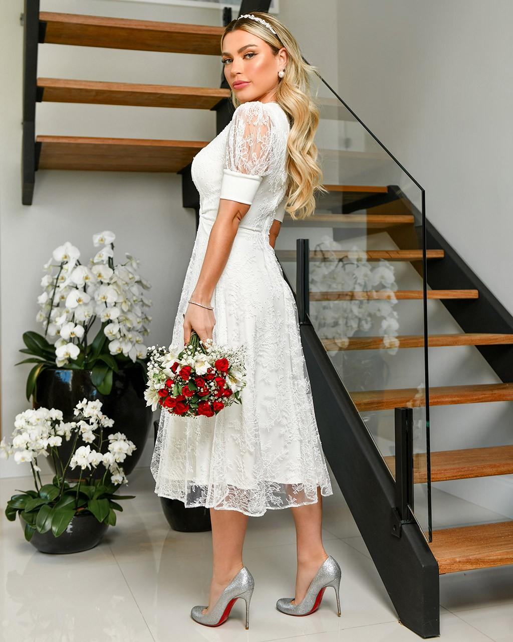 Vestido Monalisa  - Empório NM