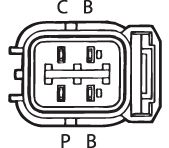 SENSOR DE OXIGÊNIO (SONDA LÂMBDA) - FINGER PRÉ 13 OHMS Conector macho 4 FIOS 40CM HONDA ACCORD 2.2 - 16V (GASOLINA) 91/93 KLAUS DRIFT
