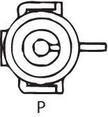 SENSOR DE OXIGÊNIO (SONDA LÂMBDA) - FINGER PRÉ  1 FIO 40CM CHEVROLET BLAZER 2.2 - 8V EFI/MPFI (GASOLINA) 95/00 KLAUS DRIFT