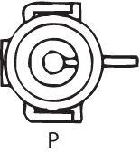 SENSOR DE OXIGÊNIO (SONDA LÂMBDA) - FINGER PRÉ  1 FIO 40CM CHEVROLET OMEGA 2.2 - 8V MPFI (GASOLINA) 96/99 KLAUS DRIFT