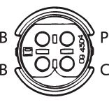 SENSOR DE OXIGÊNIO (SONDA LÂMBDA) PLANAR PRÉ  3 FIOS 60CM MERCEDES-BENZ ML 500 5.0 01/05 KLAUS DRIFT