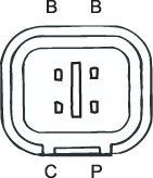 SENSOR DE OXIGÊNIO (SONDA LÂMBDA) PLANAR PRÉ Conector macho 3 FIOS 78CM HYUNDAI I30   KLAUS DRIFT