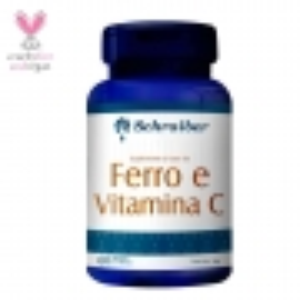 Ferro + Vitamina C 400mg 60 Cápsulas Schraiber