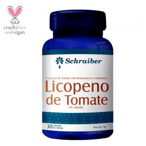 Licopeno Tomate 300mg 30 Cápsulas Schraiber