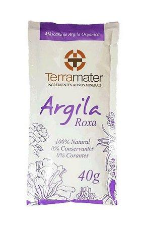 Argila Roxa Sachê 40g Terramater