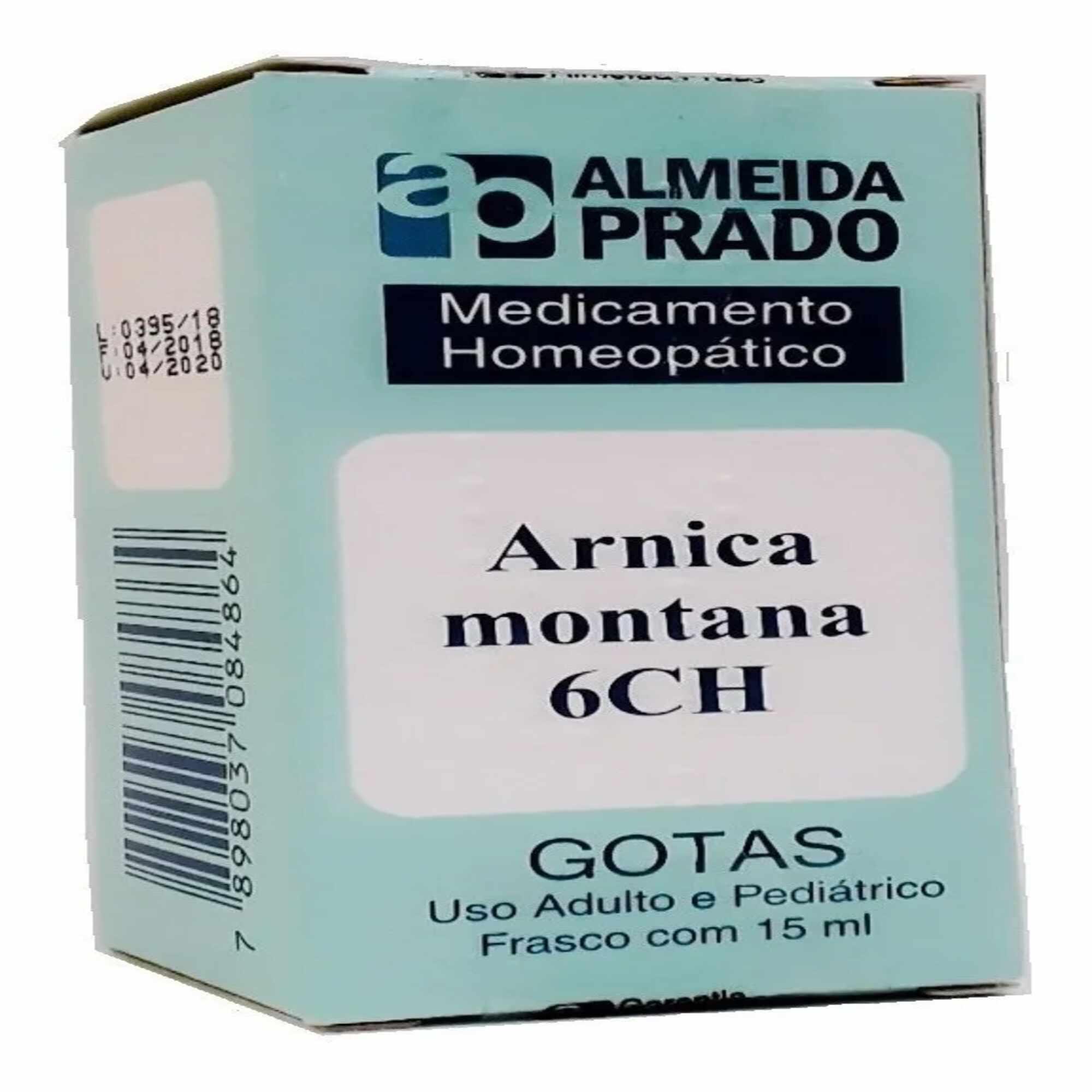 Arnica Montana 6Ch Líquido Almeida Pradro