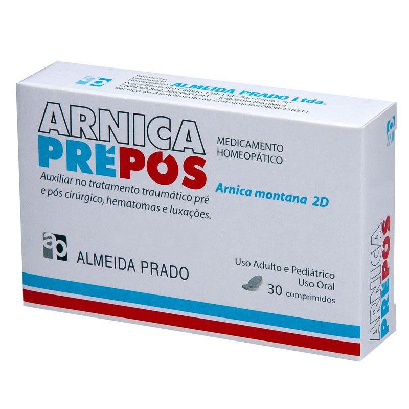 Arnica Pré-Pós 30 comprimidos Almeida Prado