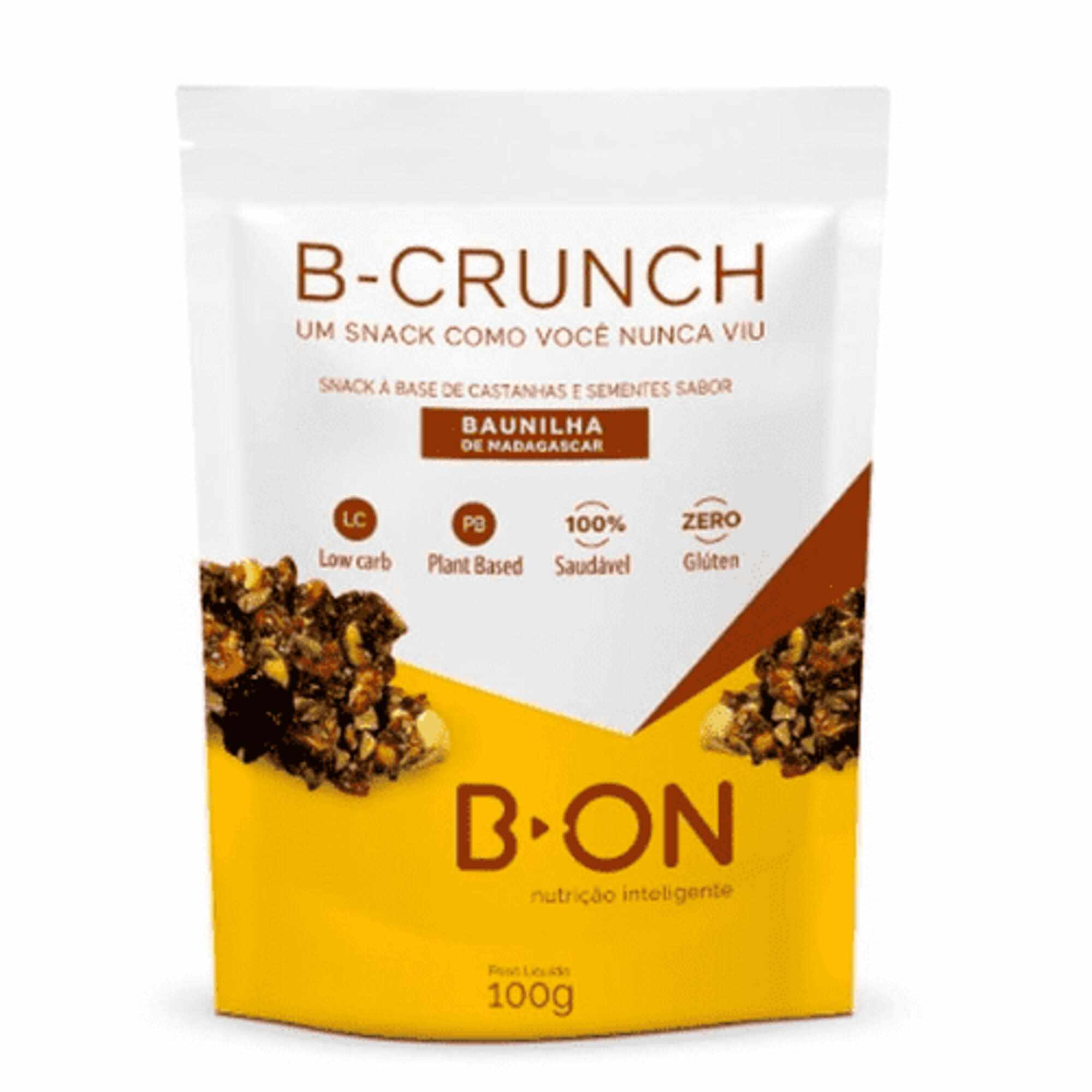 B-Crunch Baunilha Madagascar 100g B-On