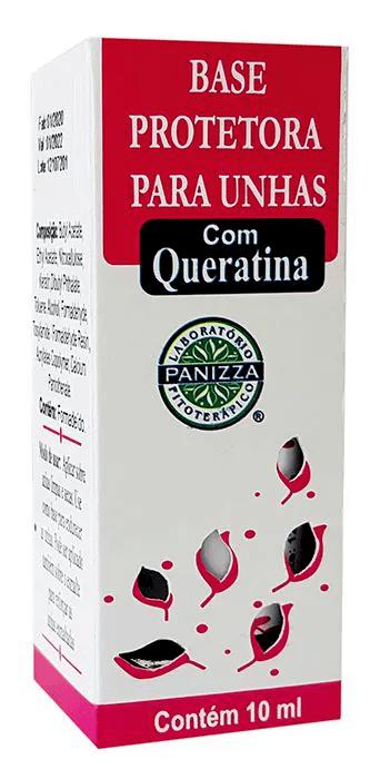 Base para Unhas C/ Querat 10mL Panizza