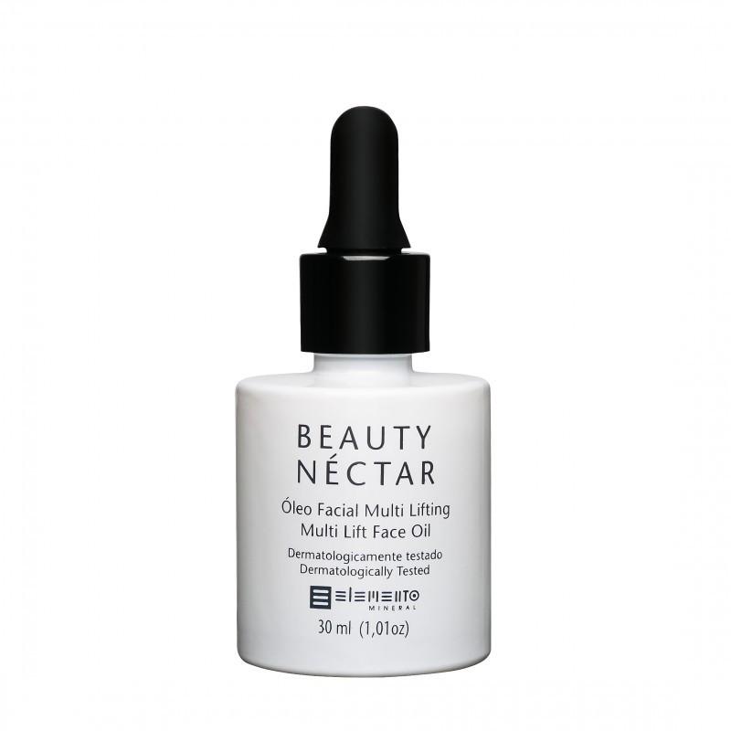 Beauty Nectar Óleo Facial Multi Lifting 30mL Elemento Mineral
