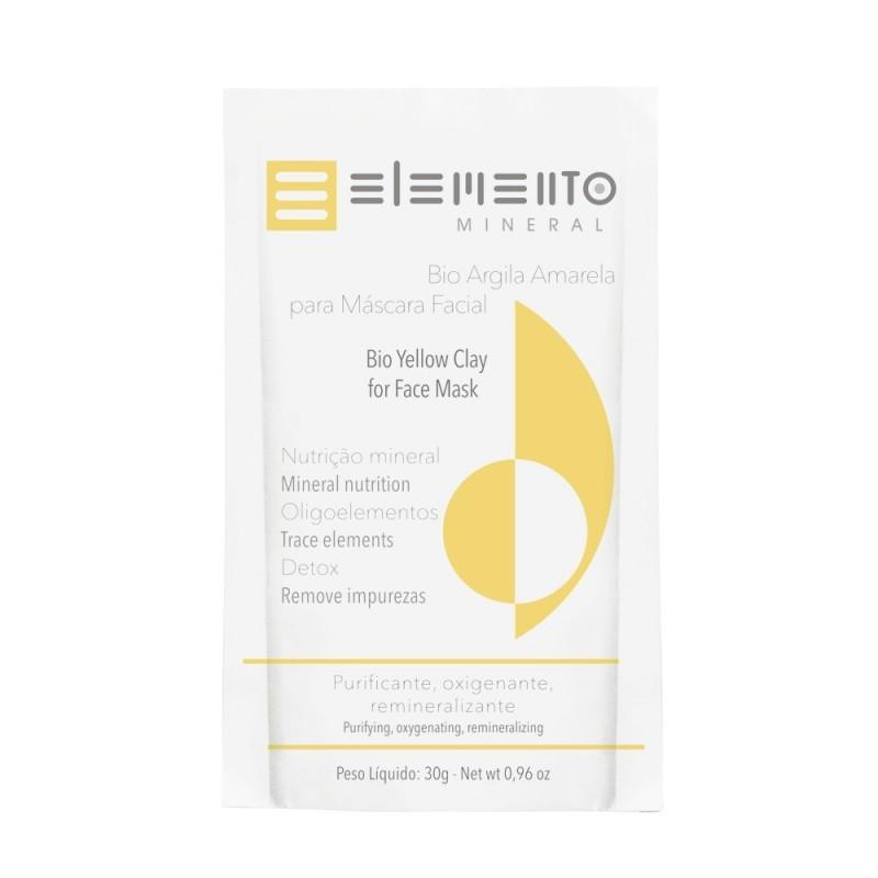 Bio Argila Amarela 30g Elemento Mineral