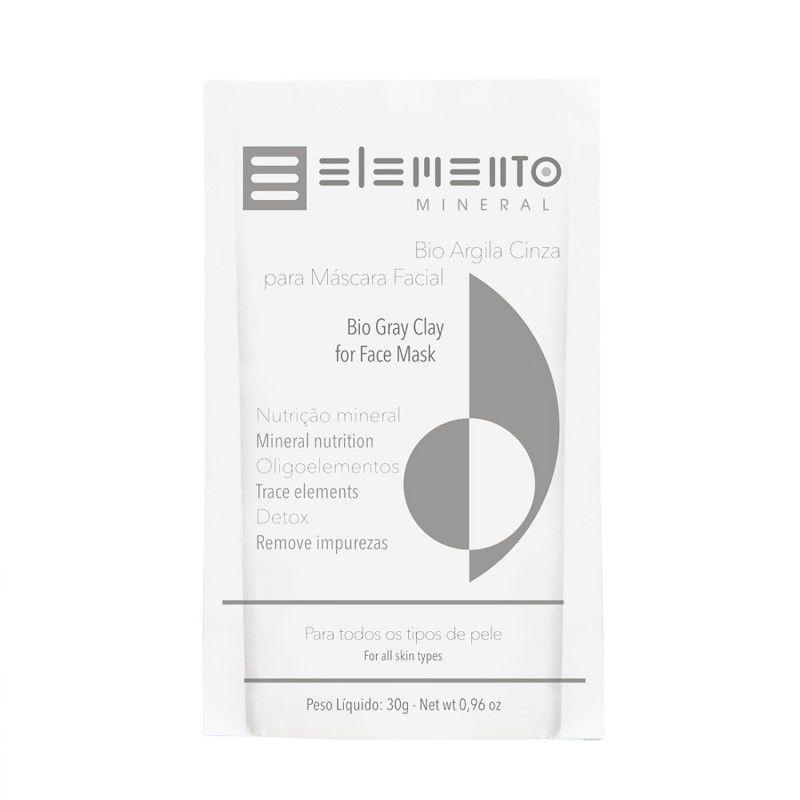 Bio Argila Cinza 30g Elemento Mineral