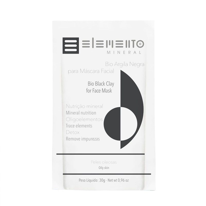 Bio Argila Negra 30g Elemento Mineral