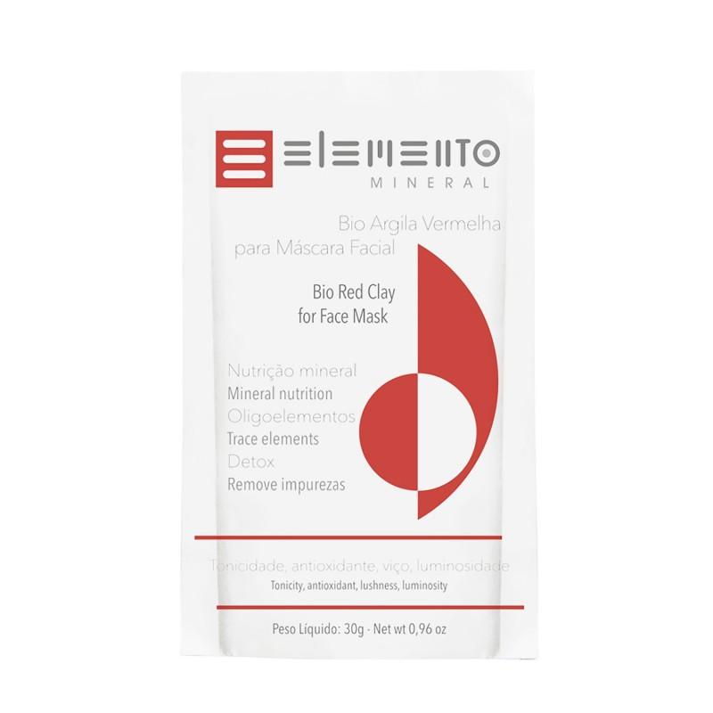 Bio Argila Vermelha 30g Elemento Mineral