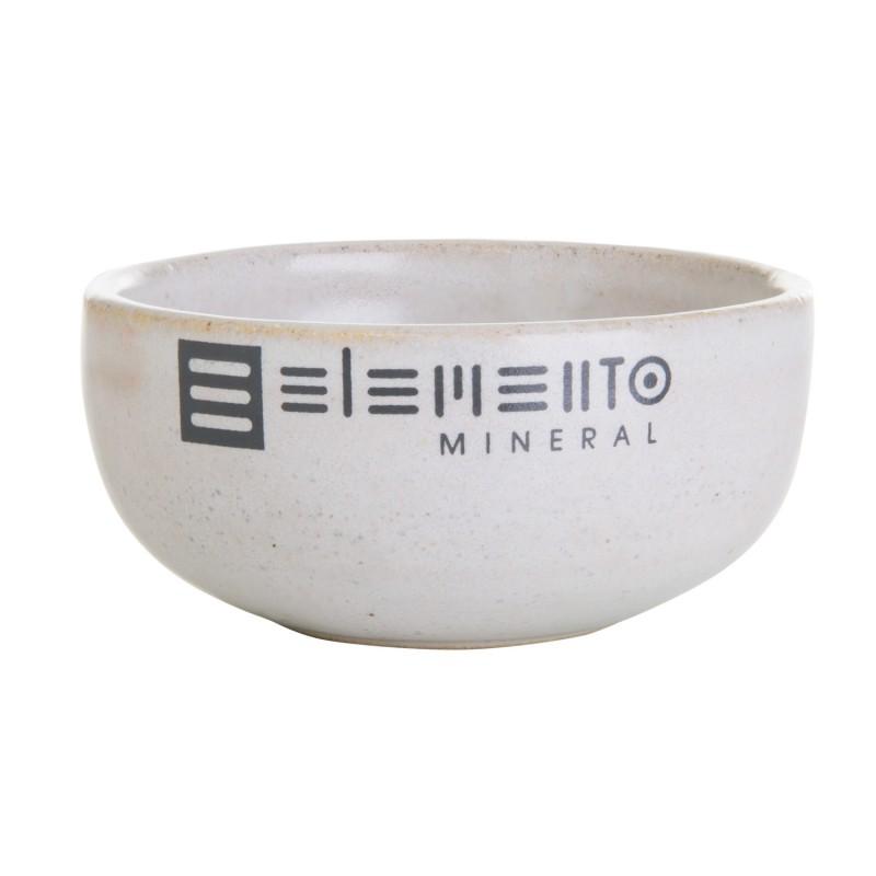 Bowl de cerâmica p/ máscara facial Elemento Mineral
